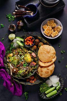 Nov 11, 2020 - Surti Undhiyu aka Gujarati Undhiyu, is a winter delicacy. Surti Undhiyu is a combination of winter veggies, fenugreek dumplings cooked in spices.