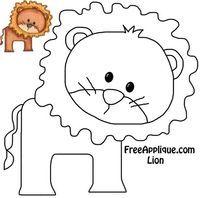 Printable Patterns - Lion Quilt Block