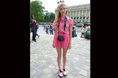 [París] Monocromía: ¿te animás a vestirte de un solo color de cabeza a los pies?. Foto:Agustina Garay Schang
