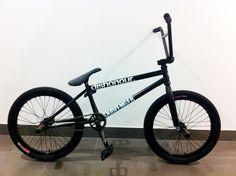BMX black bike matte bicycle