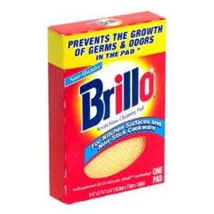 I'm learning all about Brillo Scratchless Cleaning Pad at @Influenster!