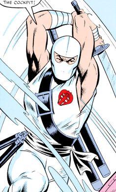 Storm Shadow - GI Joe - Marvel Comics - Sword strike