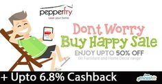 Upto 50% off on Furniture @pepperfry_official  get upto 6.8% cashback from encashit >> http://ift.tt/1UVUhJC  #pepperfry #furniture #pepperfryoffers #pepperfrycashback #pepperfry
