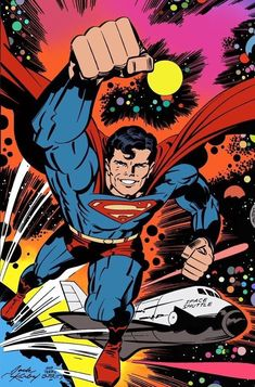 Superman #400 by Jack Kirby and Terry Austin (1984) *