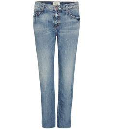 Current/Elliott The Unrolled Fling Slim Boyfriend Jeans For Spring-Summer 2017