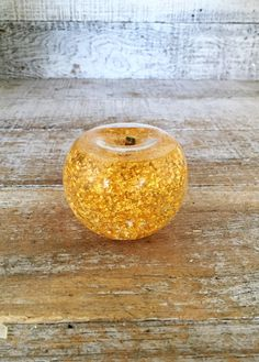 Gold Apple 23k Gold Filled Apple Snow Globe Golden Apple Mid Century Decor Hollywood Regency Gold Paperweight Teacher Gift by TheDustyOldShack on Etsy