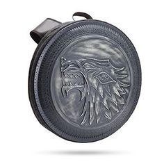 Accessories : Game of Thrones Stark Shield Backpack Game Of Thrones Series, Hbo Game Of Thrones, Maison Stark, Jon Snow, Backpack Reviews, Backpacks For Sale, Brass Fittings, Geek Gifts, Novelty Gifts