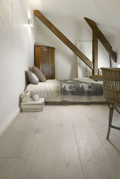 Trinity Ek Polar White oljevaxad Diy Flooring, Wooden Flooring, Oversized Mirror, Minimalism, Interior, House, Furniture, Home Decor, Ideas