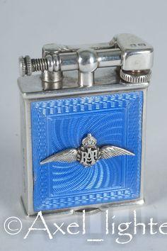 Dunhill-Parker hard glass blue enamel - 1939