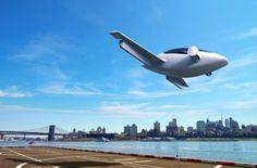2016 Llega el primer avión para desplazarse en el día a día: eléctrico y con despegue vertical