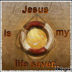 Jesus my life saver Thank You Jesus, Jesus Is Lord, Jesus Christ, Fun Fair, Jesus Lives, Jesus Freak, Ocean Themes, God Loves Me, My True Love