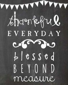 Remember God's Many Blessings