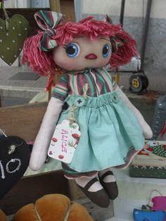 Alice Rag Doll bellissima !