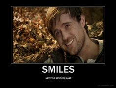 """*UNCONTROLLED SOBBING* And now I see why I actually liked Robin in the last episode. His smile was actually happiness. Not just the """"I'm so amazing"""" smile he usually did."""