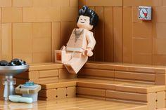 Feeling the heat - LEGO Sauna