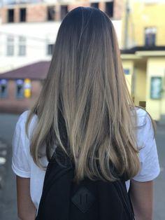 Hair blonde Brown #hair #blonde #brown #sombre sombre #ombre ombre #flamboyage flamboyage short long