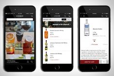 Minibar Delivery App - For the guy that is always on the go or for the relax at home kind of guy. There is an app that can help get your alcohol in a quick fashion New Gadgets, Cool Gadgets, Jameson Irish Whiskey, Delivery App, Absolut Vodka, Liquor Store, Favorite Pastime, App Design, Whisky
