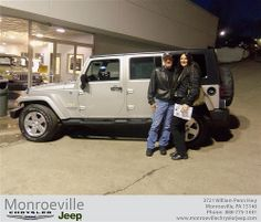 Happy Anniversary to James Gerard on your 2007 #Jeep #Wrangler from Michael Haskins and everyone at Monroeville Chrysler Jeep! #Anniversary