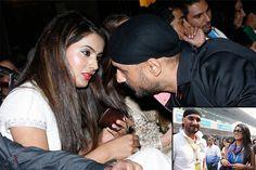 harbhajan singh geeta basra wedding