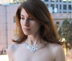 Arabesque Leather Necklace from Schicki Mickis