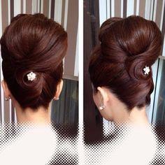 African American. Black Bride. Wedding Hair. Natural Hairstyles. #bridalhair