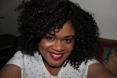 Sassy #coily #naturalhairstyle  Queen Ashley ~ Queen Of Kinks, Curls & Coils™ (Neno Natural) - Neno Natural ~ We Grow Big, Beautiful Afros!