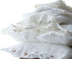 Linen pillowcase standard queen king euro sham by mooshop