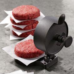 burger press.