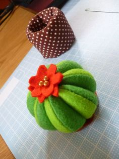 Cactus pin cushion / by Tricky Mommy