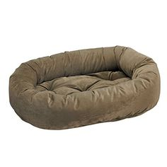 Donut Platinum-Microfiber Dog Bed ^^ Find out more details by clicking the image : Dog Beds and Furniture