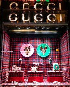 "GUCCI, London, UK, ""The Year of The Dog"", (Chinese New Year), photo by Visual Windows 27, pinned by Ton van der Veer"