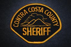 Contra Costa County Sheriff Patch, California (Current Issue)