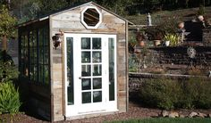 Green Building in San Francisco by Green Sheds - Where Everything is Recycled | Our customizable sheds are built with 100% recycled materials. Perfect for potting or storage needs, playhouse, or pet house.