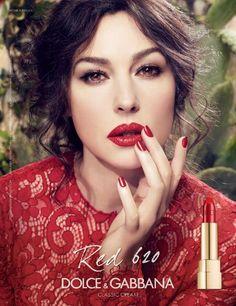Monica Bellucci - Dolce & Gabbana Makeup S/S 14