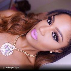 "By @makeupshayla @motivescosmetics pecan lip liner #makeupshayla #colouredraine #anastasiabeverlyhills #nyxcosmetics #lorac #flutterlashes"" via @PhotoRepost_app Motives products can be found here: www.my123beauty.com"