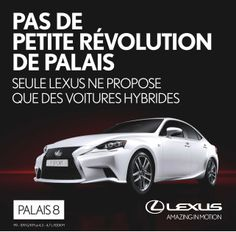 Our first Lexus work. Brussels Motor Show 2014 Client: Lexus Agency: darw!n an agency of bbdo worldwide