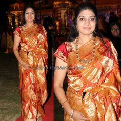 Exclusive Collection of Indian Celebrity Sarees and Designer Blouses Indian Celebrities, Exclusive Collection, Saree Wedding, Indian Wear, Silk Sarees, Blouse Designs, Sari, Simple, How To Wear