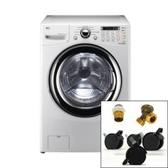 Washer Sink Combo : hidden washer lg cf front load washer dryer combo appliances robot ...