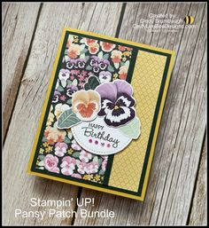 Birthday Cards For Women, Handmade Birthday Cards, Greeting Cards Handmade, Stampin Up Catalog, Bee Design, 3d Cards, Wink Of Stella, Stamping Up Cards, Card Sketches
