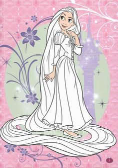Tangled Coloring Pages, Disney Coloring Sheets, Disney Princess Coloring Pages, Disney Princess Colors, Colouring Pages, Coloring Books, Rapunzel, Disney Crafts, Hobbies And Crafts