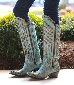 Stars & Stripes- Double D- Lane Cowgirl Boots