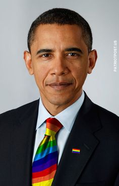 President Obama - proud supporter of the gay community.