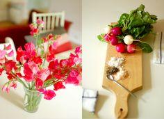 flowers + food