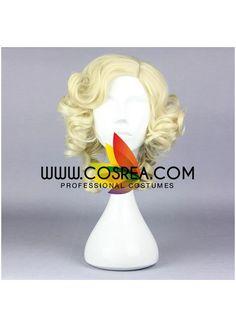 Disney Cinderella Fairy Godmother Cosplay Wig