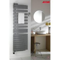 Sèche-serviette Soufflant ACOVA - REGATE Twist + Air électrique pivot à  gauche 1500W (500W+1000W) TXRL050-055IFS c4ccc8118447
