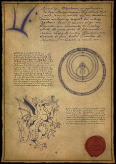 Arcane Scribblings: Missive by H4M15H on deviantART