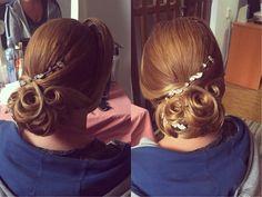 Hairstyle, Crown, Earrings, Jewelry, Fashion, Hair Job, Ear Rings, Moda, Hair Style