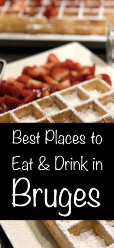 It's only right and proper that I dedicate an entire post to the food and drink we enjoyed in Bruges. With big hitters like chocolate, beer, waffles, and moules, expectations were skyscraping…
