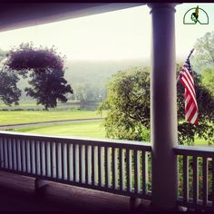 Our classic foggy veranda shot will never get old.