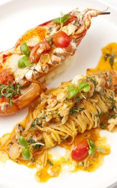 Big on both flavour and luxury, lobster spaghetti is a favourite in many southern Italian coastal towns.